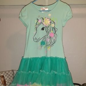 Dress by beautees. Size 6. Unicorn on front.
